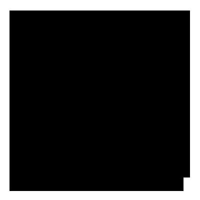 Bomuldselastik med gyldne streger (Sort, 50 mm)