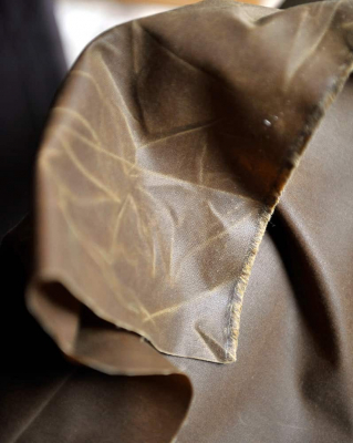 Antiqued Traditional Organic Oilskin