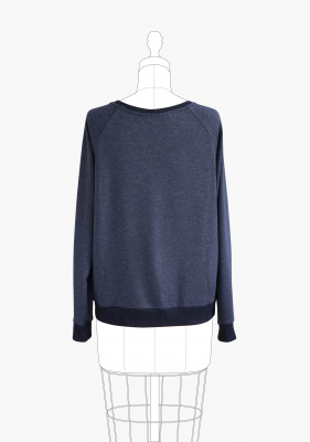 Linden Sweatshirt from Grainline Studio