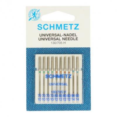 Sewing machine needles 70, 80, 90 universal - 10 pcs