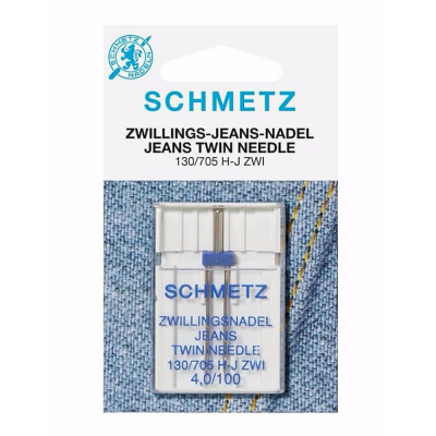 Twin Needle 4.0/100 Jeans - 1 stk