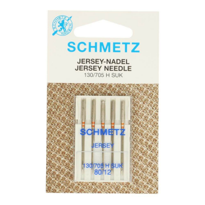 Sewing machine needles 80/12 jersey - 5 pcs