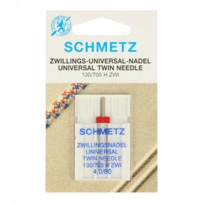 Twin needle 4,0/80 universal - 1 pcs