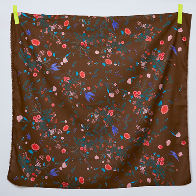 Jardin I B - linen/cotton flannel
