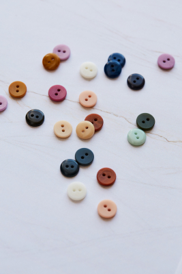 2-hole Corozo Button 11 mm