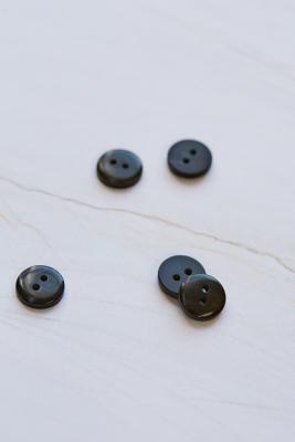 2-hole Corozo Button 11 mm - Caviar