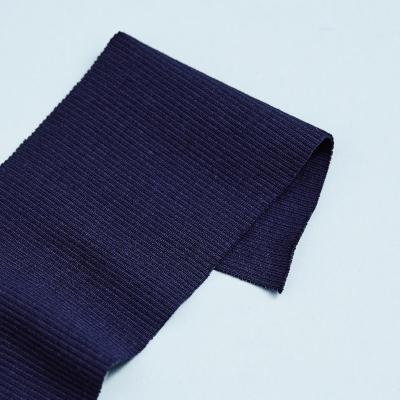 Organic 2x1 Rib - Navy Blue