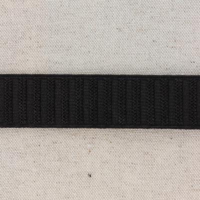 Waistband Elastic, Black 25 mm (no twist)
