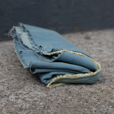Washed Denim, 10 oz - Worn Blue