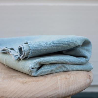 Heavy Washed Denim, 12.5 oz - Light Blue