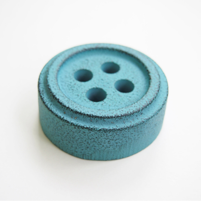 Button Paper weight, Green - stentøj