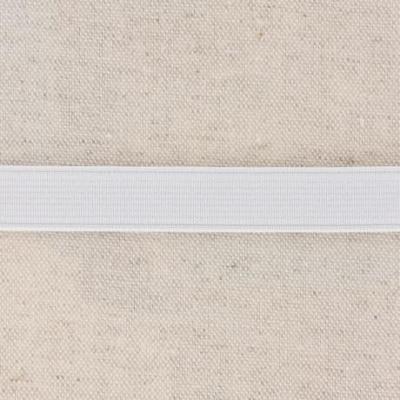 Waistband Elastic, White 15 mm