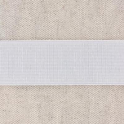 Waistband Elastic, White 35 mm