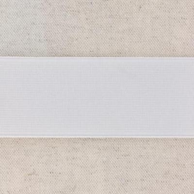 Waistband Elastic, White 40 mm