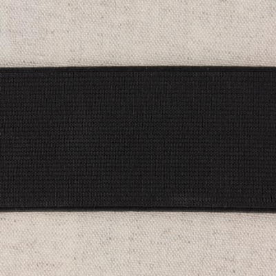 Waistband Elastic, Black 50 mm