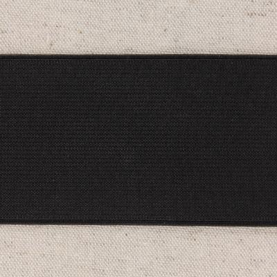 Waistband Elastic, Black 60 mm