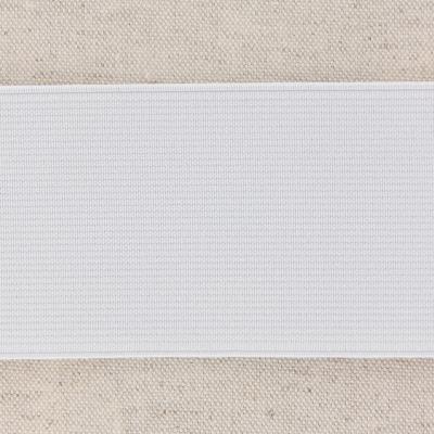 Waistband Elastic, White 60 mm