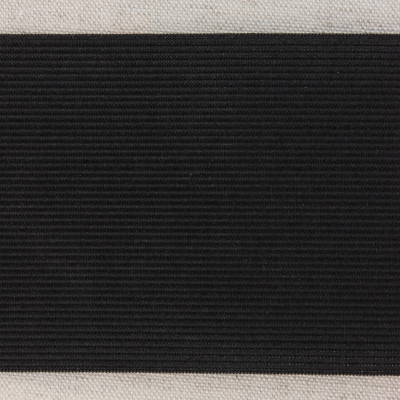Waistband Elastic, Black 80 mm