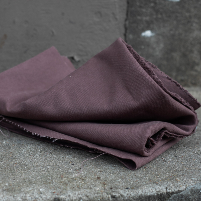 REMNANT 30x150 // Washed Canvas - Grape