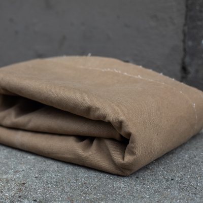 Heavy Washed Canvas - Brown khaki
