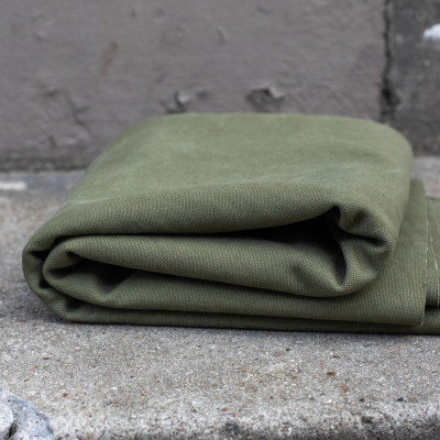 Heavy Washed Canvas - Pine