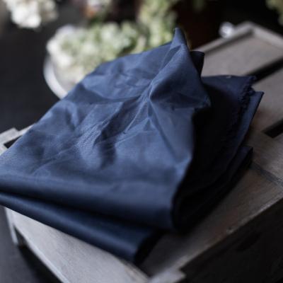Dry Waxed Organic Cotton - Navy