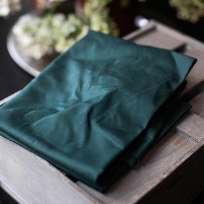 Dry Waxed Organic Cotton - Dark Green