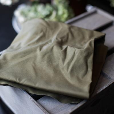 Dry Waxed Organic Cotton - Khaki
