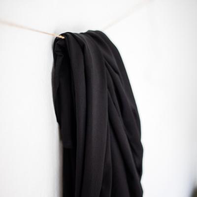 REMNANT 60x150 // Tencel Stretch Jersey - Black