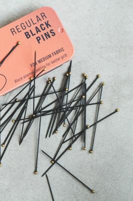 Regular BLACK pins