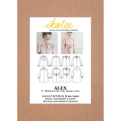 Alex Blouse & Dress (3-12Y)