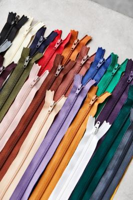 meetMILK coil zipper, 30 cm