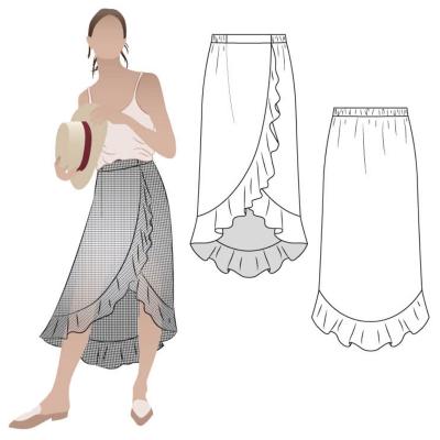 Ariel Wrap Skirt