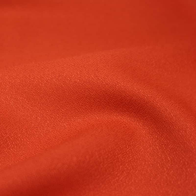 Tangerine - Viscose Crepe