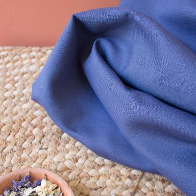 Linen/Cotton - Cobalt