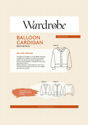Balloon Cardigan