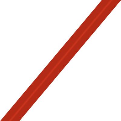 Bias tape 9 mm, Paprika