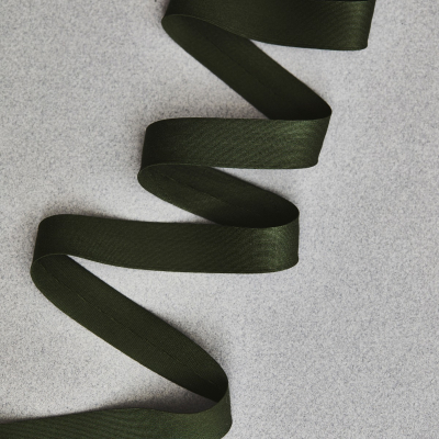 Solid Bias Tape 18 mm - Khaki