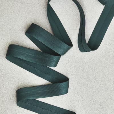 Solid Bias Tape 18 mm - Bottle Green