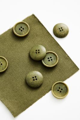 Blaze Corozo Button 20 mm - Olive Green
