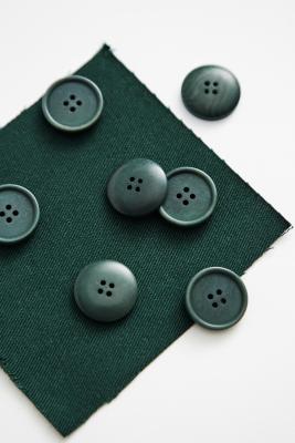 Blaze Corozo Button 20 mm - Bottle Green