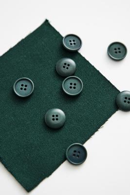 Blaze Corozo Button 15 mm - Bottle Green
