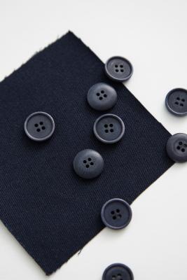 Blaze Corozo Button 15 mm - Indigo Night