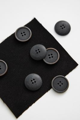 Blaze Corozo Button 20 mm - Black