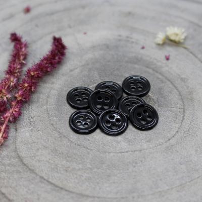Bliss Button, 11 mm - Black