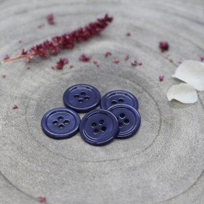Bliss Button, 11 mm - Cobalt