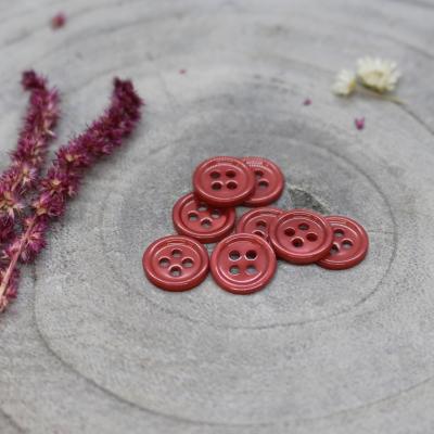 Bliss Button, 11 mm - Terracotta