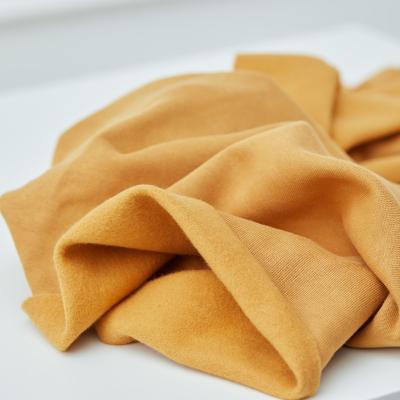 Organic Basic Brushed Sweat - Dry Mustard