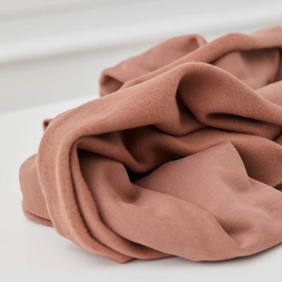 Organic Basic Brushed Sweat - Old Rose