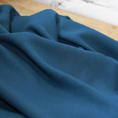 Bleu Petrol - Viscose crepe